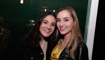 Daniela Villarreal y Montse Faz.