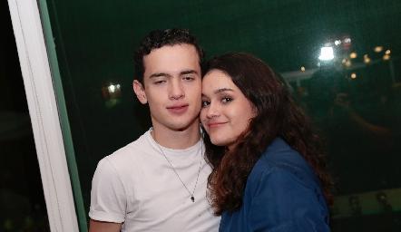 Emiliano Díaz e Isabela Armendariz.