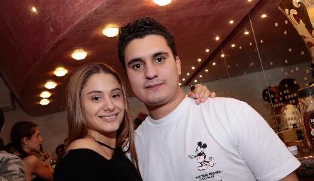 Alexia Revuelta y Marcos Valenzuela.