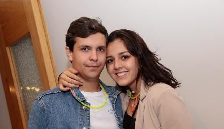 Carlos Andrade y Natalia Rentería.