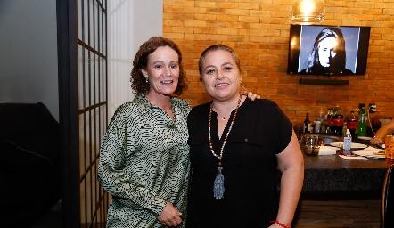 Adriana Padilla y Montse Gutiérrez.