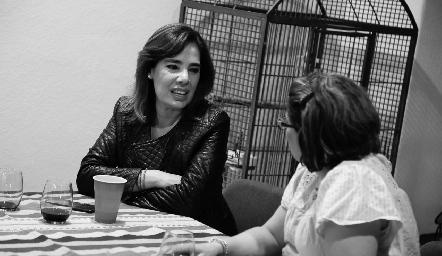 Beatriz Canseco y Mariana Millán.