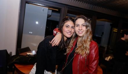 Natalia Gárate y Vero Gómez.