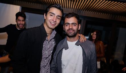 Pablo Rodríguez y Juan Pablo Abud.