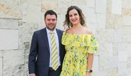 Arturo Sánchez y Mayte Torres.