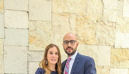 María Domínguez y Sergio Madrigal.