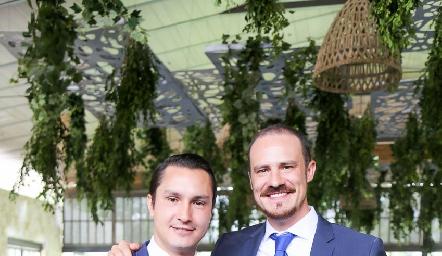 Chuchín Martínez y Pato Valle.