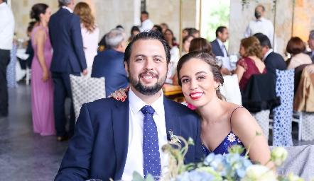 Fernanda Torres y Fernando Dibildox.