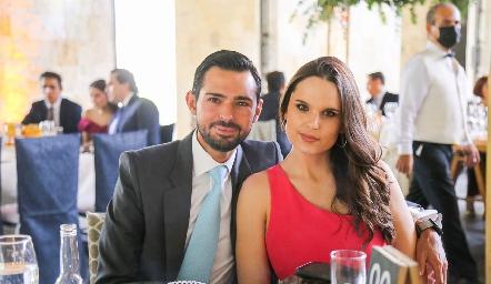 Andrés y Mayte.