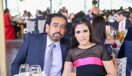 Juan Carlos Acosta y Paola Súarez.
