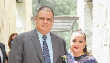 Salvador de Pozo y Paty Sánchez.