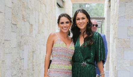 Paulina Aguirre y Carmen Del Valle.