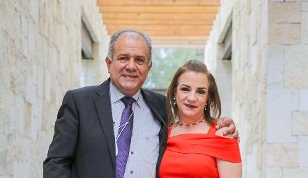 Eduardo Estrada y Ana Luisa Torres.