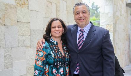 Claudia Ávila y Alejandro Villasana.