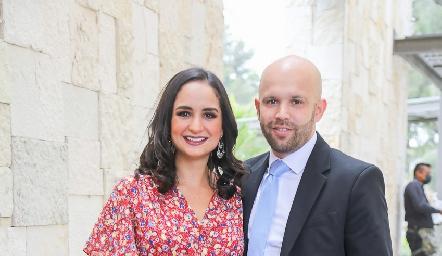Claudia Villasana y Santiago Villarreal.