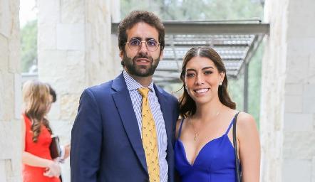 Elías Barhum y Silvia Guel.