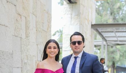 Daniela y Ricardo.