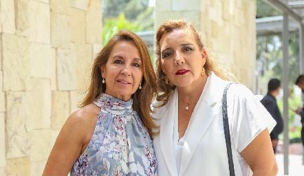 Maru Velázquez e Isabel Castillo.