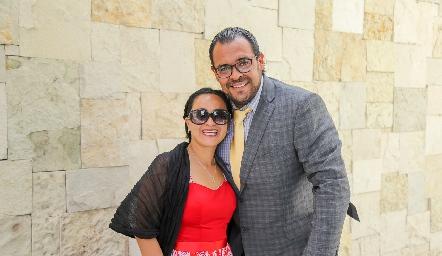Laura y José Luis Moreno.