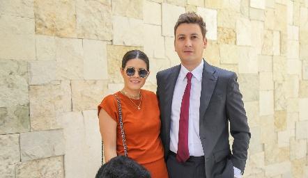 Paola Quintana e Ignacio Ruiz.