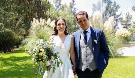 Sofía Torres y Alejandro Sanvela ya son esposos.
