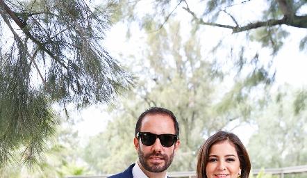 Manuel Boelsterly y Pamela Castro.
