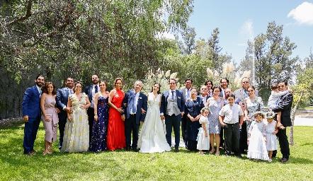 Familias Torres Acosta y Sánchez Velázquez.