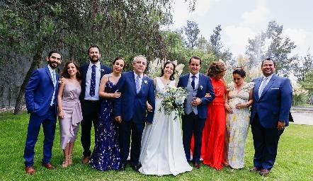 Familia Torres Acosta.