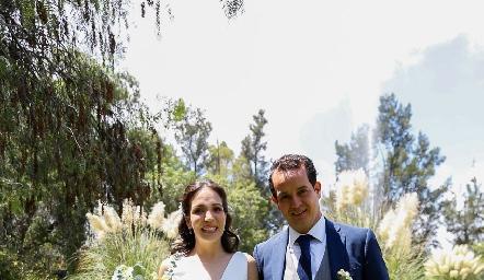 Sofía Torres y Alejandro Sanvela.