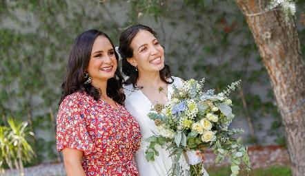 Claudia Villasana y Sofía Torres.