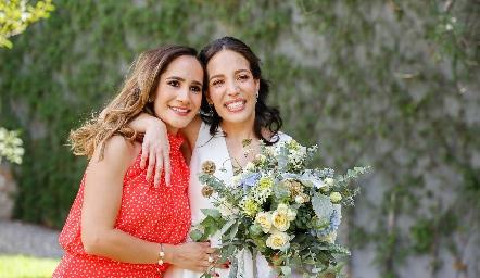 Dani Mina y Sofía Torres.