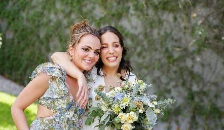Gaby Foyo y Sofía Torres.