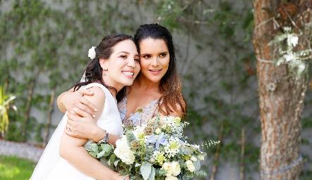 Sofi Torres y Jessica Martín Alba.