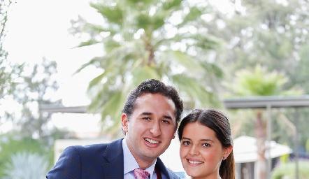 Diego Villanueva e Isabela Rodríguez.