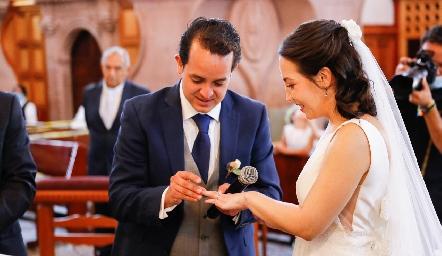 Alejandro Sanvela y Sofía Torres.
