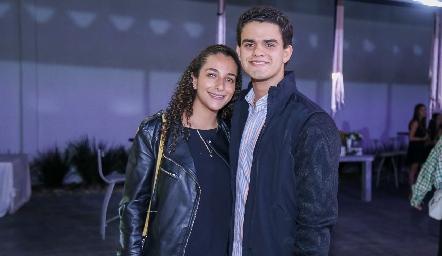 Ana Gaby Villalba y Aldo Pizzuto.