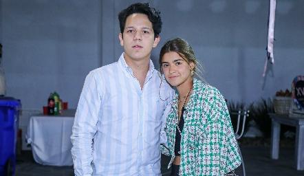 Rolando Fernández y Miranda Pizzuto.