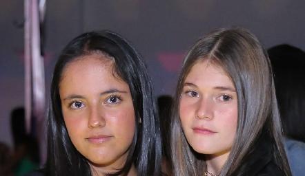 Fátima Ruíz y María Paula Díaz.