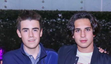 Marco Burgos y José Manuel.