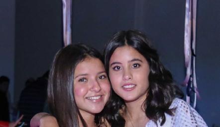 Ana Pau Castaneda y María Navarro.