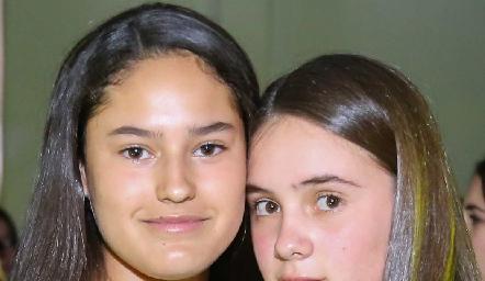Macarena Fernández y Ana Rivera.