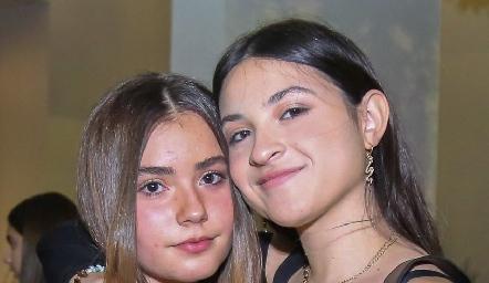 Ana Sofía Gutiérrez y Victoria Rendón.