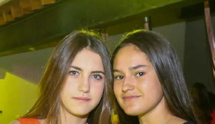 Alexa Pizzuto y Macarena Fernández.