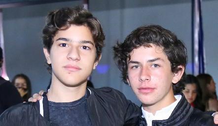 Andrés Martínez y Diego Payán.