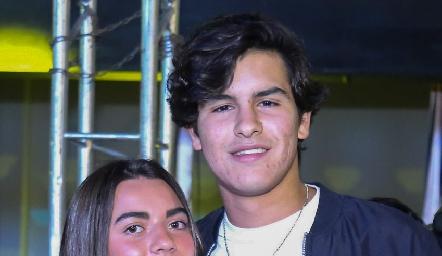 María Anguiano y Diego Gómez.