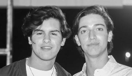 Diego Gómez y Juan Pablo Dip.
