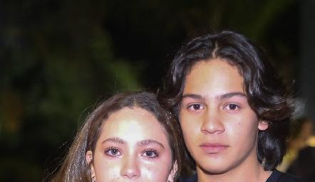 Bárbara de la Fuente y Mike Fernández.