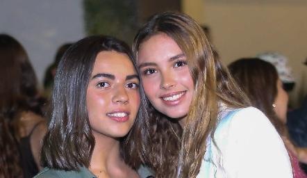 María Anguiano y Alexa Heinze.