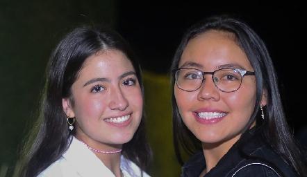 Ana Pau Jiménez y Pau Muñoz.