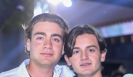 Félix Feres y Pato Sarquis.
